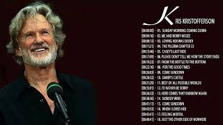 Kris Kristofferson Greatest Hits || Kris Kristofferson Playlist