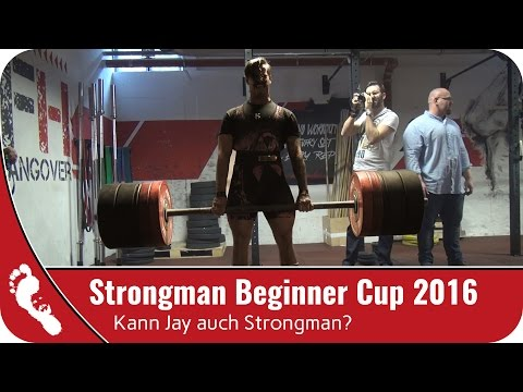 Competition VLOG | Strongman Beginner Cup 2016
