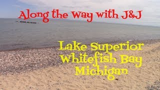 Lake Superior at Whitefish Point - Upper Peninsula Michigan - Travel Blog