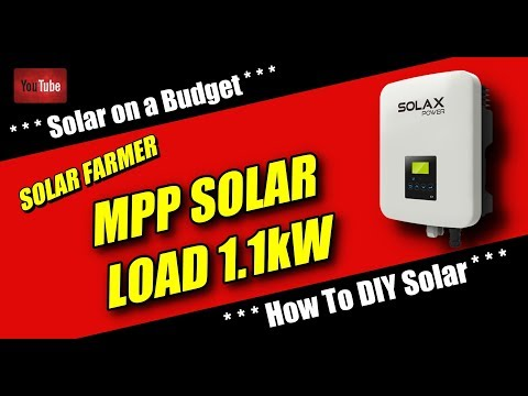 MPP SOLAR . . . Load 1kW