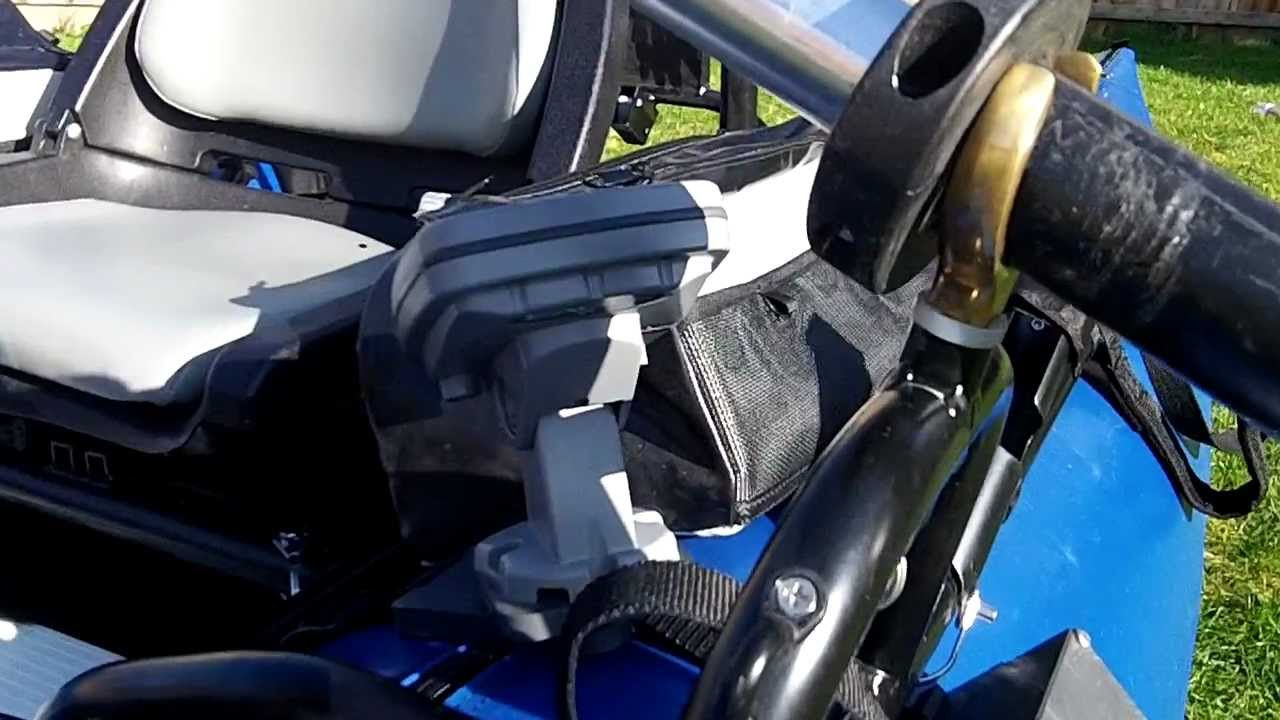 Pontoon & Float Tube Fish Finder Mounts All-In-One ...