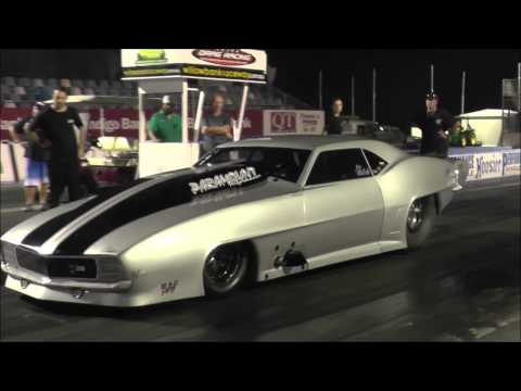 Stew Walsh Evil Outlaw Camaro 6.63 @ 209mph Paramount Performance