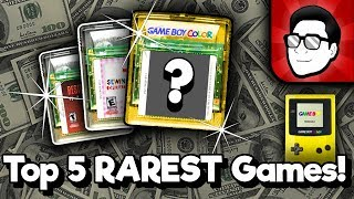 Top 5 RAREST Game Boy Color Games! | Nintendrew