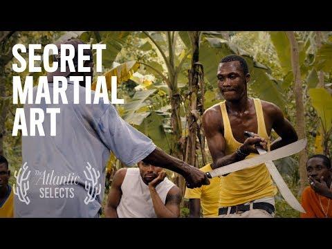 The Master of a Secret Machete Martial Art