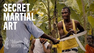 The Master of a Secret Machete Martial Art