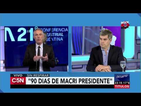 C5N – Desafio 2016: editorial de Zlotogwiazda y análisis de los 90 días de Macri presidente