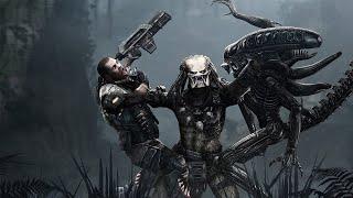 Aliens vs Predator Прохождение (Хищник) Финал