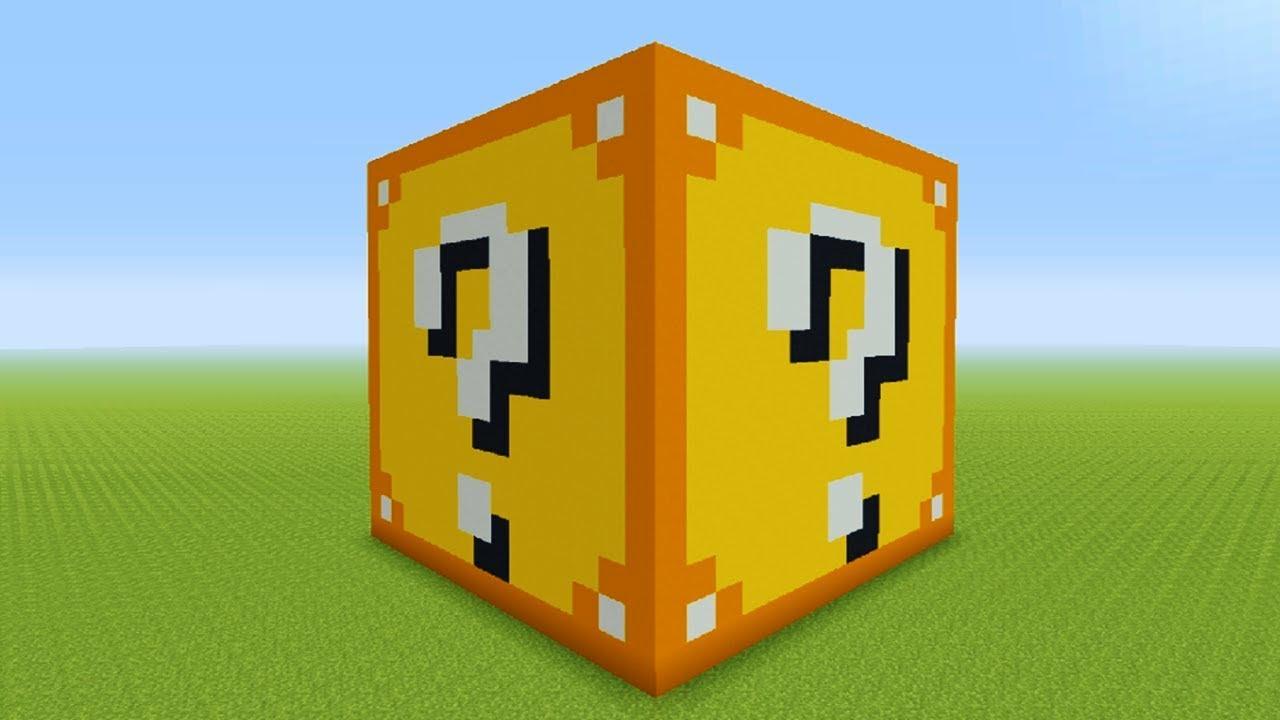 how do you make a lucky block