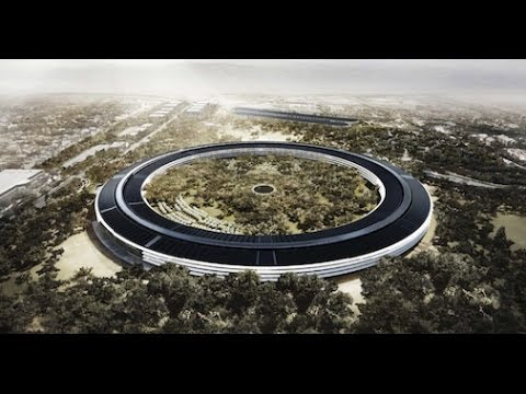 apple campus finale bau genehmigung f r die ufo zentrale erteilt youtube. Black Bedroom Furniture Sets. Home Design Ideas