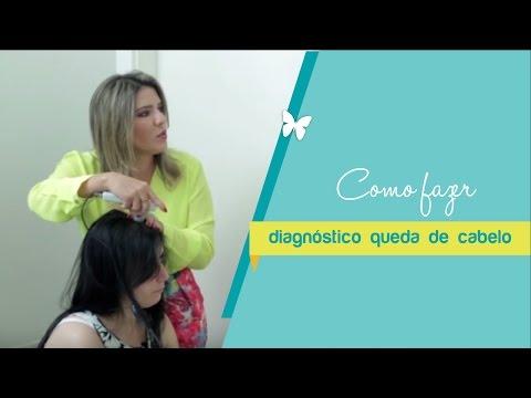 Vídeo Exames para queda de cabelo