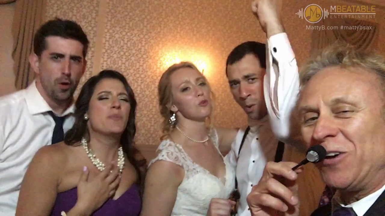 Matty B Entertainment Matt Bernier Amazing Wedding