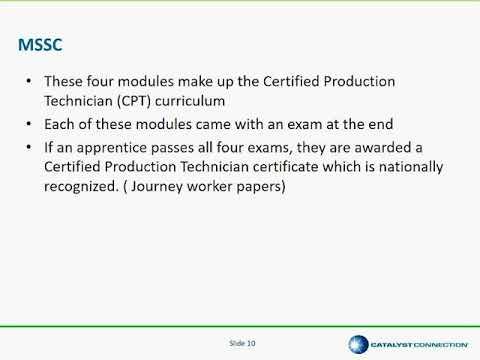 Industrial Manufacturing Technician (IMT) Apprenticeship Program ...