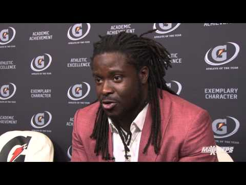 Eddie Lacy Interview - Gatorade Player of the Year Awards