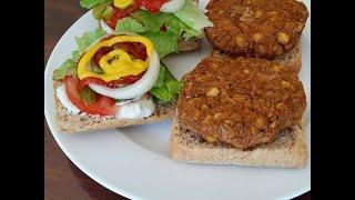 Yummy Lentil Chickpea Burgers