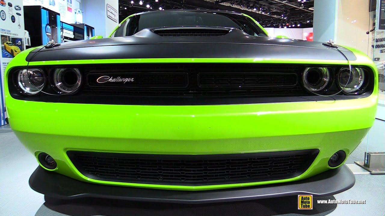 2015 dodge challenger ta mopar concept exterior and interior walkaround 2015 detroit auto s - Dodge Challenger 2015 Exterior