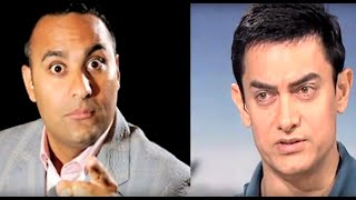AIB Roast : Russell Peters asks Aamir Khan to shut up and mind his own business !