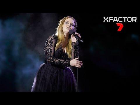 Amalia's Performance Of Madonna's 'Frozen' - The X Factor Australia 2016