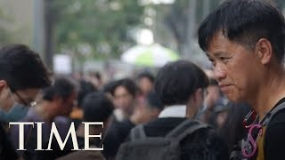 Hong Kong's Freedom Protesters Mourn Their Martyr At An Emotional Vigil   TIME thumbnail