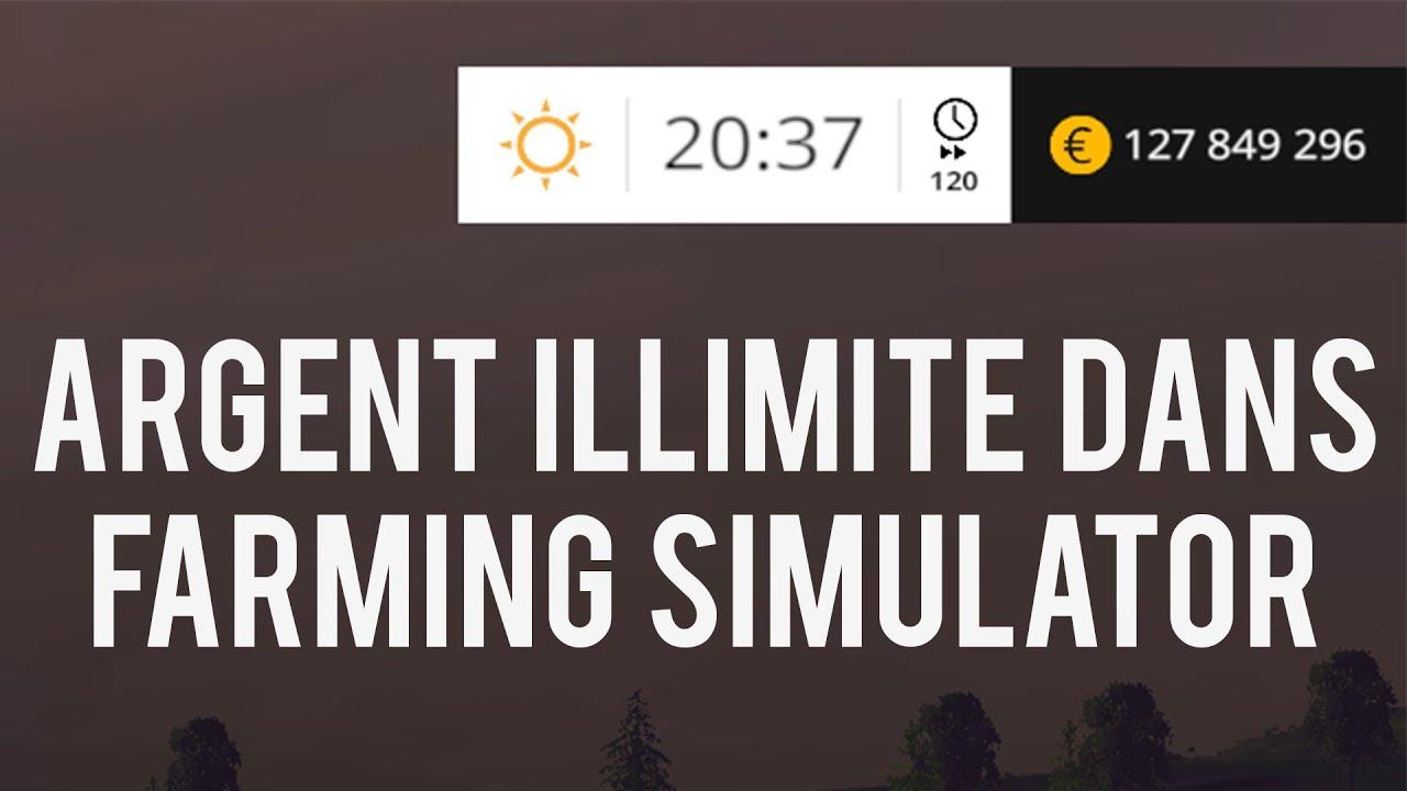ps3 comment avoir de l argent a l infini sur farming simulator 2015 youtube