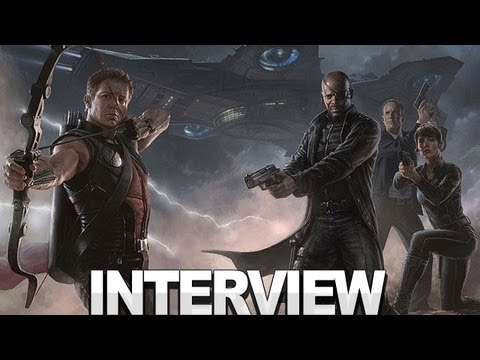 Marvel's The Avengers - Agents of S.H.I.E.L.D. Interview