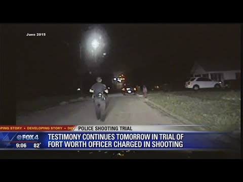 Testimony Continues in Fort Worth Officer Trial