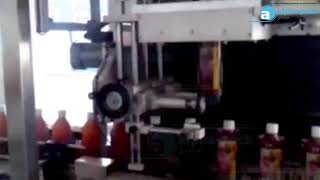 Automatic Sleeve Steam Shrink Wrapping Labeling Machine APTB 200 for Full Bottle A