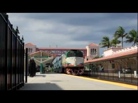 Tri-Rail P635: West Palm Beach Station 08/04/2011
