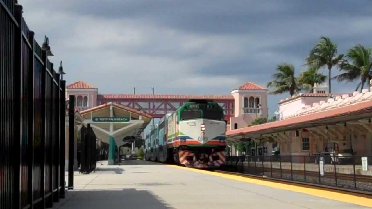 Tri Rail In West Palm Beach