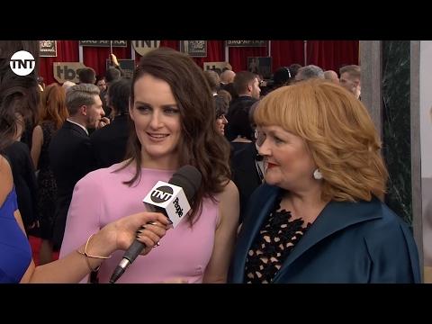 Sophie McShera and Lesley Nicol I SAG Awards Red Carpet 2016 I TNT