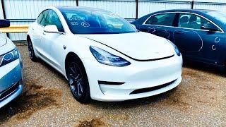 Copart Walk Around + Carnage + Tesla Model 3 + 7-7-2020