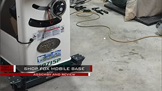 Shop Fox Mobile Base for Grizzly G0715P Table saw