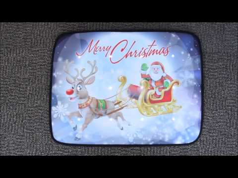 Musical Christmas Door Mat