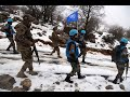 UNIFIL peacekeepers perform their duties in any clime and place