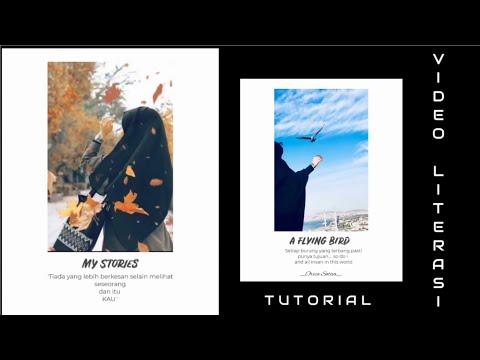 Cara Bikin Video Literasi 30 Detik [Insta Story /Insta Feeds Literasi]