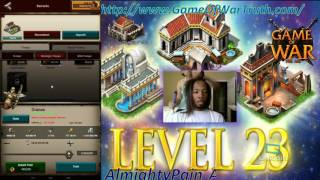 Game Of War Ep 400 Upgraded 22 Lvl Building & Troop Training