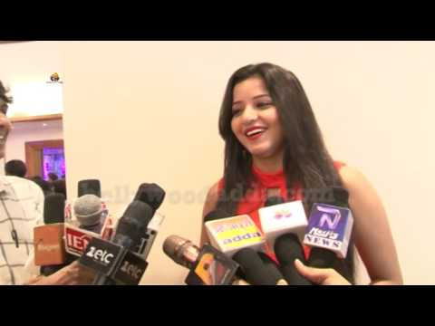 Bhojpuri Actress Monalisa Attend Bhojpuri Industries Premier League Cricket Team 2016