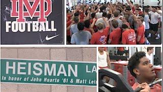 Mater Dei Football (Santa Ana CA) UTR Spring Ball Tour 2015