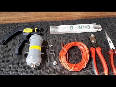Antennenbau 27:  Kurze Multibandantenne Mit 1:9 Balun