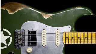 Blues Funk Rock Guitar Backing Track Jam in E Minor