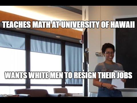 Piper Harron: White Men Should Quit Their Jobs!