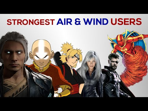 Strongest AIR & WIND users in the Universe