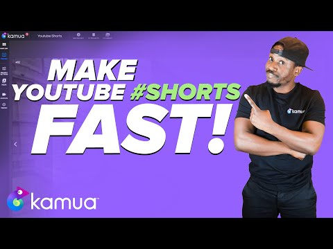How to quickly make YouTube #Shorts | Kamua Tutorial