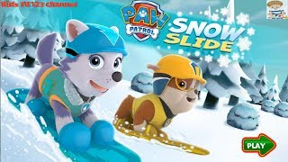 Patrulla Canina | PAW Patrol 2 Full Episodes | Snow Slide | Kids TV 123 Channel