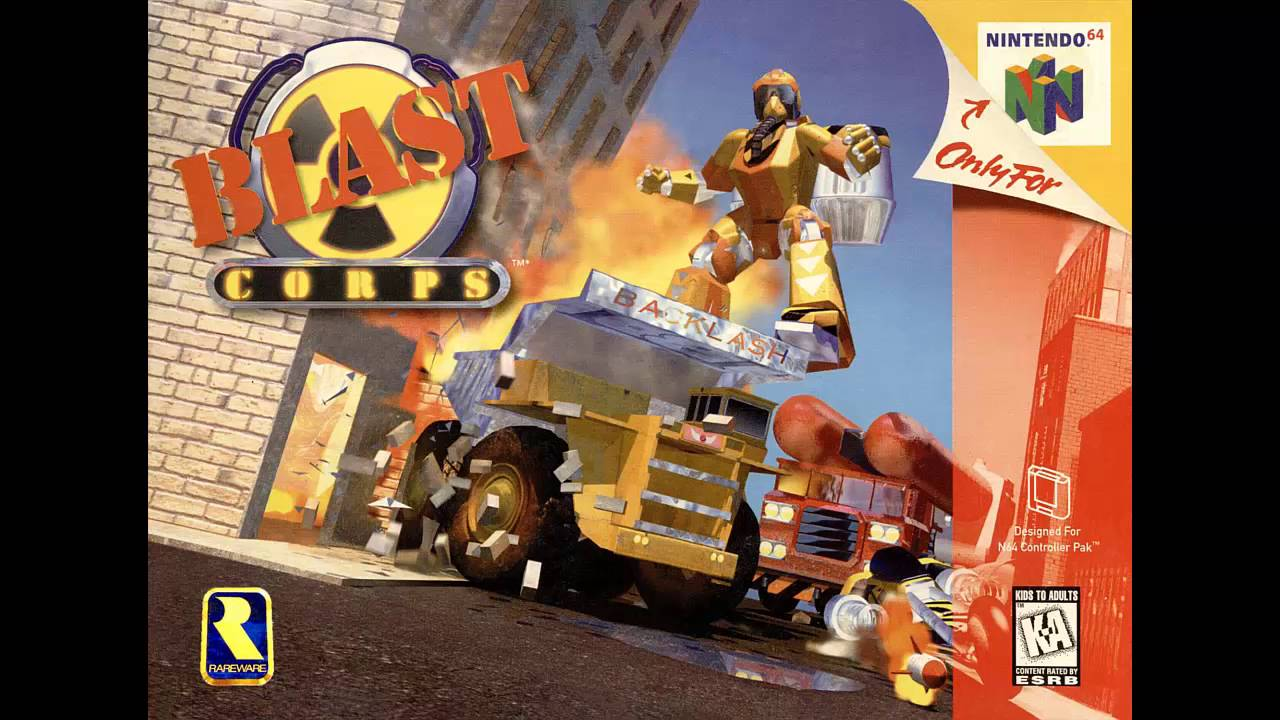 Blast Corps - World Map (No Vocals) Extended