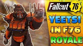 The biggest wins in NUCLEAR WINTER - Fallout 76 Funny Moments