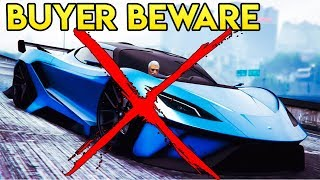 GTA Online BUYER BEWARE - The Overflod Tyrant & Vapid Dominator GTX Review (Do Not Waste Your Money)