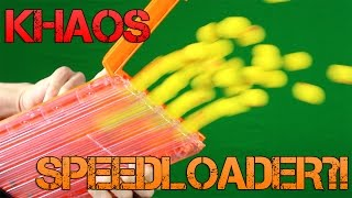 Nerf Rival Khaos Speed Loader! | Reload Up To 3x Faster! | Khaos Magazine Trick