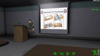 America's Army 2 Training: Control Bleeding - Medic Training