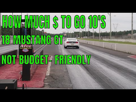 DAILY DRIVEN - Ford Mustang GT WHAT IT COST TO GO . AT MPH IN / MILE