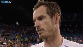 Murray Discusses Cincinnati 2016 SF Win